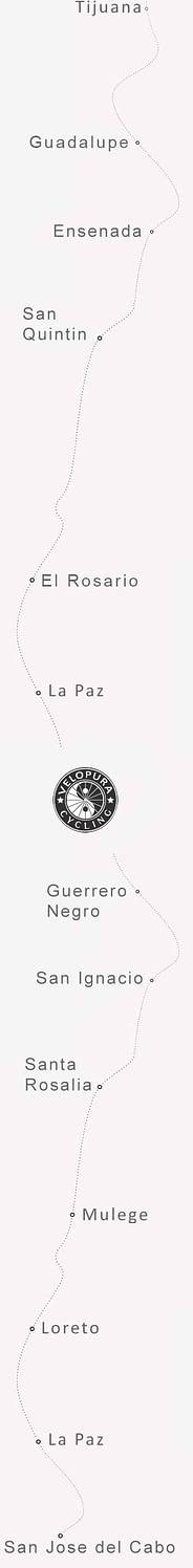 Mexico bicycle tour